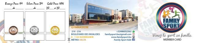 Abonnement Family Sport